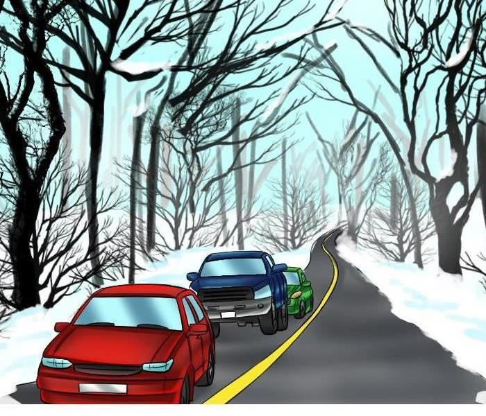 General Drive Safe During Icy Road Conditions
